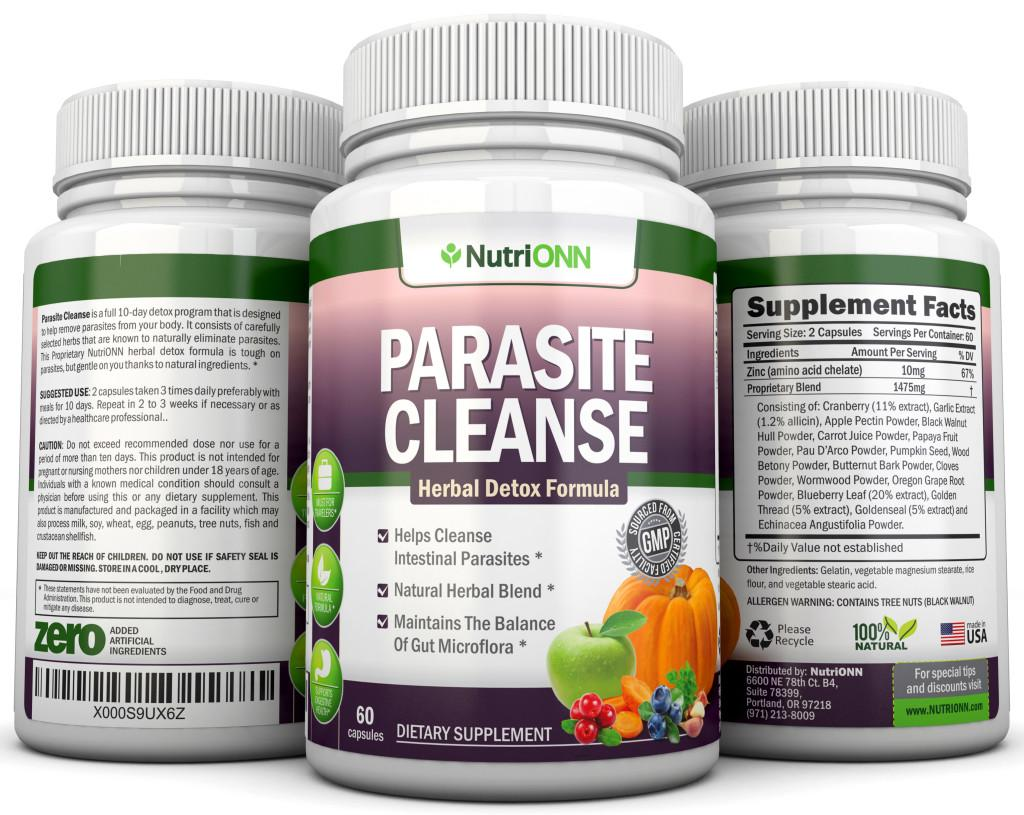 How To Naturally Cleanse Body Of Parasites