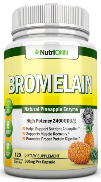 Bromelain natural pineapple extract