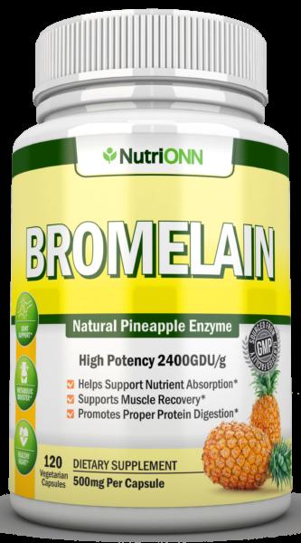 Bromelain natural pineapple extract