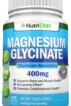 Magnesium Glycinate - 400 mg Elemental Magnesium