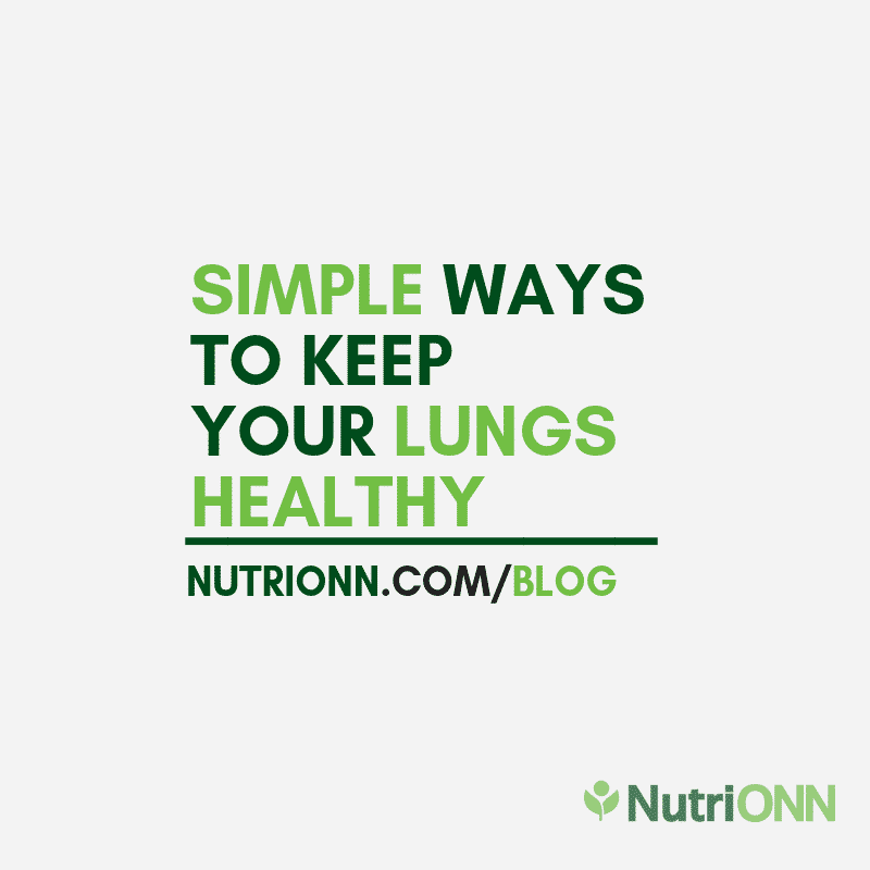 Simple Ways To Keep Your Lungs Healthy